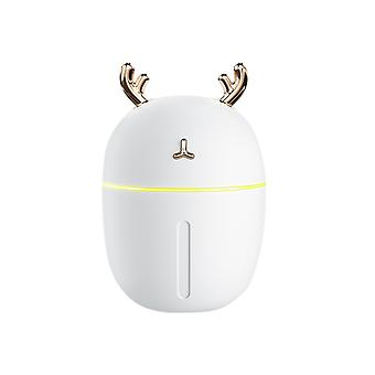 Usb Humidifier Household Portable Mute Aroma Diffuser,white