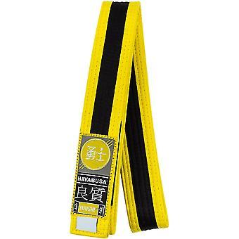 Hayabusa Youth Jiu-Jitsu Belt - Yellow/Black