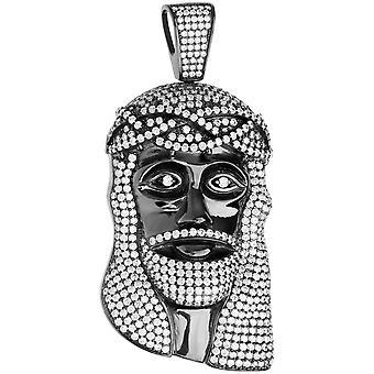 Prémio Bling - 925 prata esterlina pendente da cabeça de Jesus