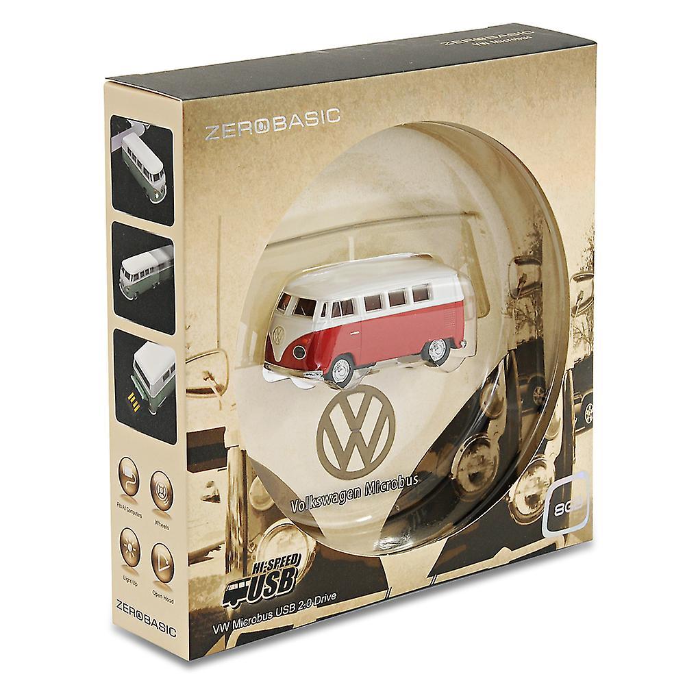 Official VW Camper Van Bus USB Memory Stick 8Gb - Red