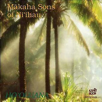 Makaha Sons of Ni'Ihau - Ho'Oluana [CD] USA import