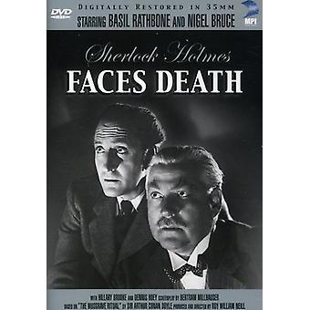 Sherlock Holmes: Faces Death [DVD] USA import