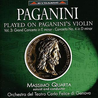 N. Paganini - Paganini: Played on Paganini's Violin, Vol. 3 [CD] USA import