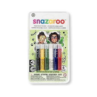 Unisex ansiktsmaling stikker Kit fra Snazaroo
