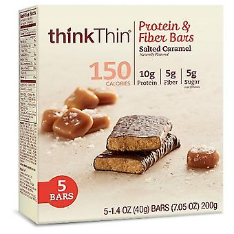 Think Thin Protein & Fiber Bars Salted Caramel