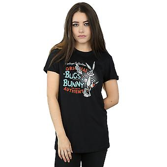Looney Tunes Women's Vintage Bugs Bunny Boyfriend Fit T-Shirt