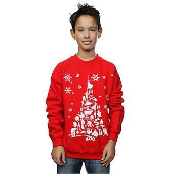Star Wars jungen Weihnachtsbaum Sweatshirt