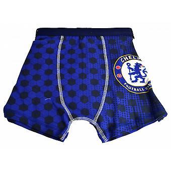 Chelsea FC oficial para niños chicos calzoncillos de fútbol