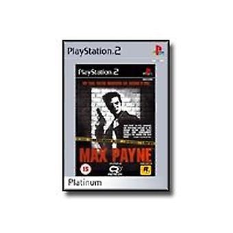 Max Payne Platinum (PS2)-fabriken förseglad