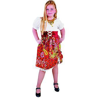 Kinder kostuums meisjes zigeuner kinderen