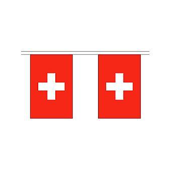 Switzerland Bunting 6m 20 Flag