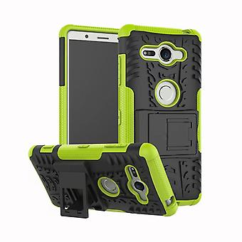Hybrid case 2 piece SWL robot green for Sony Xperia XZ2 compact bag case cover protection