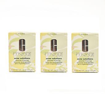 Clinique akne ratkaisuja jauhe meikkiä 0,35 oz / 10g uusi laatikko