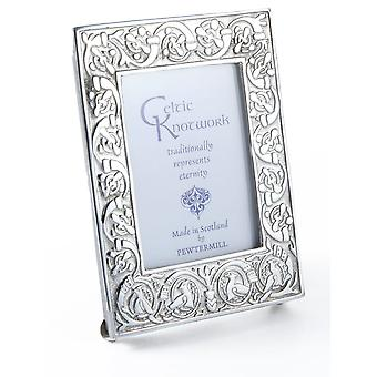 "Celtic Knotwork Eternity Pewter Photo Frame 3"" x 4"""