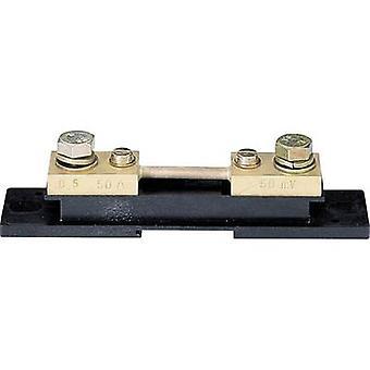 Weigel 50mV/50A Shunt Test corrente 50 A Voltage drop (num.) 50 mV Shunt resistor 50 A (50 mV)