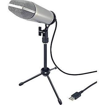Renkforce USB-S1 USB studio microfoon Corded