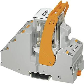 Phoenix Contato RIF-4-RPT-LDP-24DC/3X21 Relay componente nominal tensão: 24 V DC Comutação atual (máximo.): 10 A 3 change-overs 1 pc (s)
