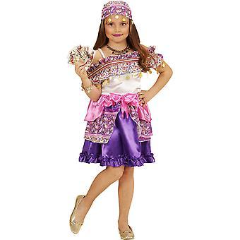 Pour enfants costumes robe Gipsy pour filles