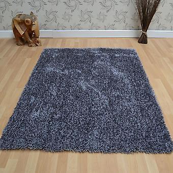 Diva Shaggy tapijten In zilver