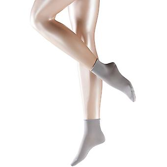 Falke algodón tacto calcetines cortos - plata