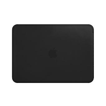Apple Leather Sleeve for 12?inch MacBook - Black