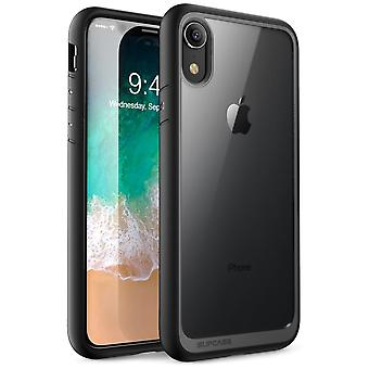 iPhone XR Case, [Unicorn Beetle Style Series] Premium Hybrid Protective Clear Case 2018 Release (Black)