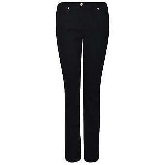 True Denim Womens Straight Leg Jeans Denim Trousers Casual Pants Bottoms
