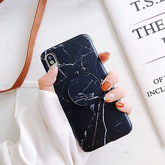Marmor Fall mit Handyhalter - iPhone XS