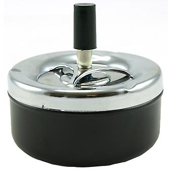 Ashtray Swivel Metal 11x10cm ashtray