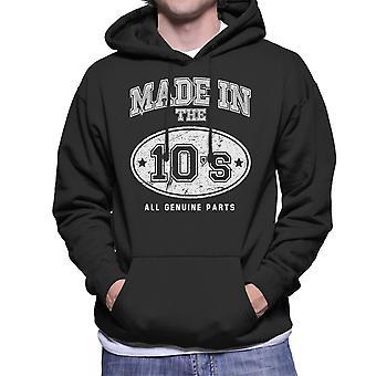 Gemaakt In 10s alle originele onderdelen mannen Hooded Sweatshirt