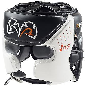 Rival Boxing RHG10 Intelli-Shock d30 Headgear - Black/White
