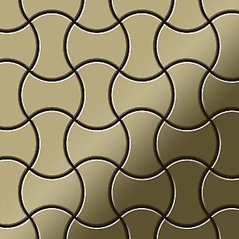 Mozaic metalic alama aliaj infinit-BM