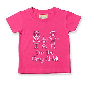 私は唯一の子スティック人 t シャツ