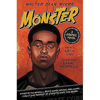 Monster - en serieroman av Walter Dean Myers - Dawud Anyabwile - kille