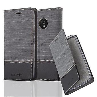 Cadorabo Case for Motorola MOTO G5 Case Cover - Phone Case with Magnetic Closure, Stand Function and Card Case Compartment - Case Cover Case Case Case Book Folding Style
