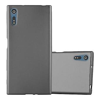 Cadorabo Hülle für Sony Xperia XZ / XZs hülle case cover - Handyhülle aus flexiblem TPU Silikon – Silikonhülle Schutzhülle Ultra Slim Soft Back Cover Case Bumper
