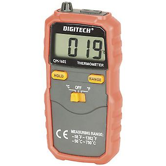 TechBrands Digital Thermometer w/ K-Type Thermocouple