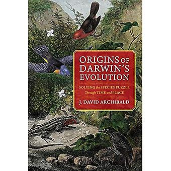 Origins of Darwin's Evolution:�Solving the Species Puzzle�Through Time and Place