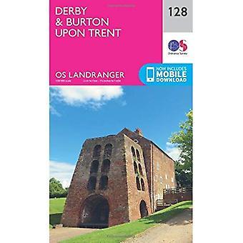 Landranger (128) Derby & Burton upon Trent (OS Landranger mapę)