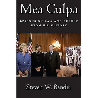 Mea Culpa: Leçons sur le droit et le Regret de l'histoire des États-Unis