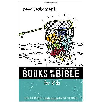 NIrV, de boeken van de Bijbel voor kinderen: Nieuwe Testament, Softcover: Lees het verhaal van Jezus, zijn kerk en zijn terugkeer (de boeken van de Bijbel)