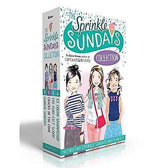 Strö söndagar samlingen: Söndag glassar; Sprickor i konen; Purr-fect Scoop; Ice Cream inklämt (strö söndagar)
