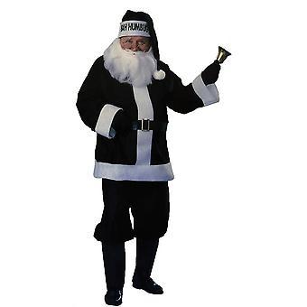 Black Santa Adult Costume