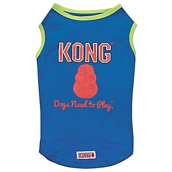 Kong SPF 40 Dog Pet Tank Top Vest Sun Ray Protection Blue