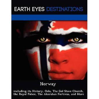 De la Iglesia Noruega incluyendo su historia Oslo el pentagrama de Gol el Real Palacio de la fortaleza de Akershus y más por Dummel y Elizabeth