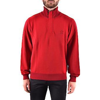 Paul & Shark Ezbc042042 Men's Red Wool Sweater