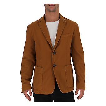 Barena Venezia Giu19902216285 Men's Brown Cotton Blazer