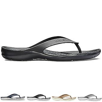 Флип-флоп женские Crocs Swiftwater флип легкий пляж бассейн летом на море