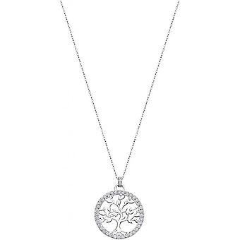 Necklace and pendant Lotus Silver TREE OF LIFE LP1746-1-1 - necklace and pendant TREE OF LIFE money woman