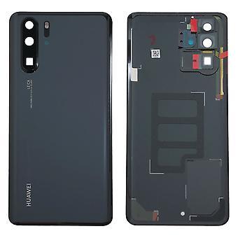 Huawei batterij cover batterij cover batterijklepje zwart voor P30 Pro 02352PBU repareren nieuw